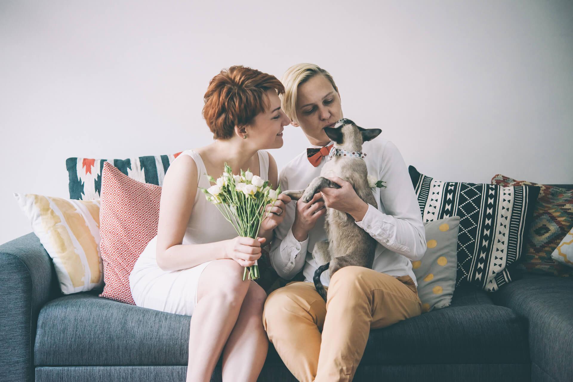 same-sex couple, marriage, divorce, child custody