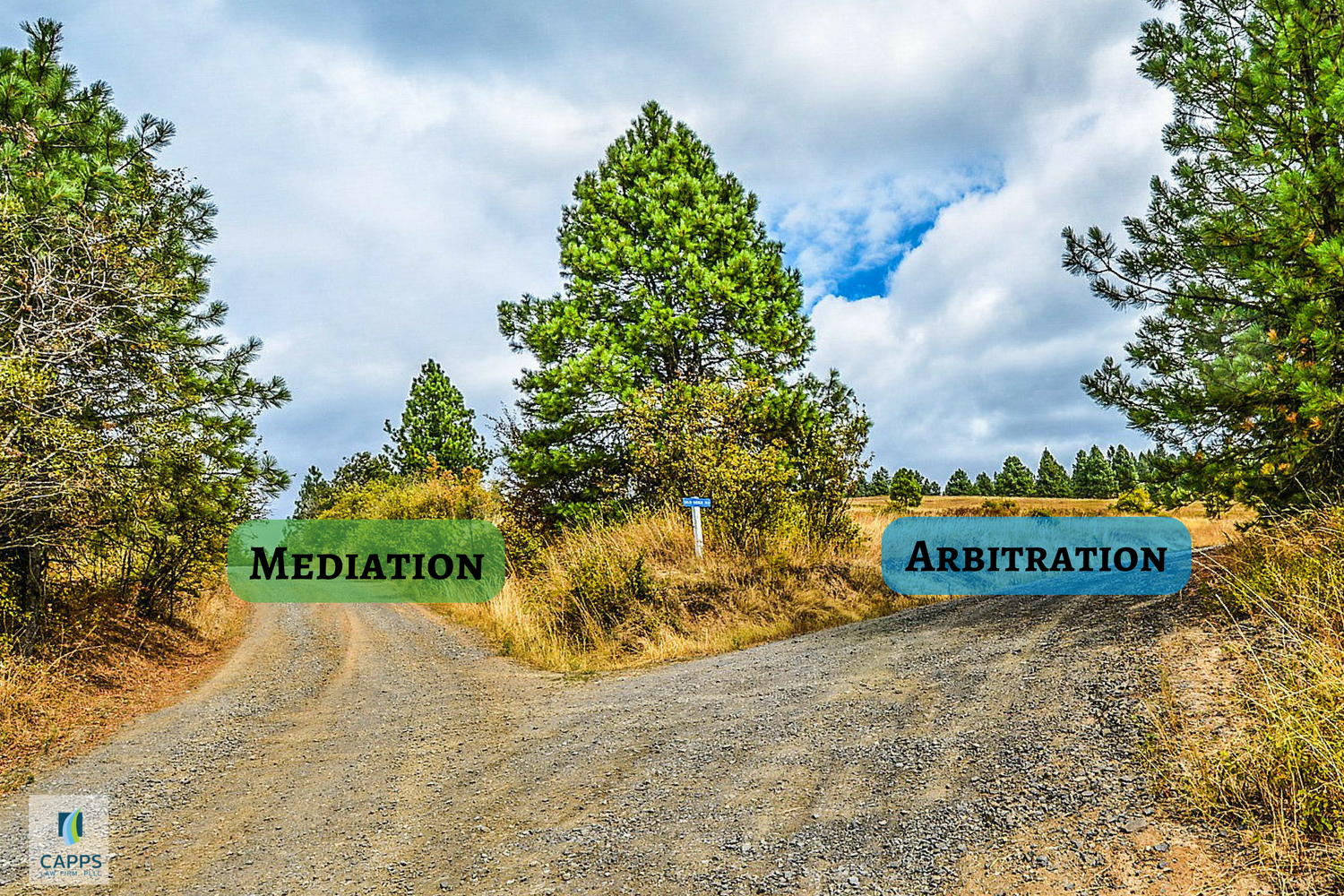 Mediation, Arbitration, fork in the road, legal decisions, austin divorce attorney, kelly J. capps, erin C. leake, mediation attorney