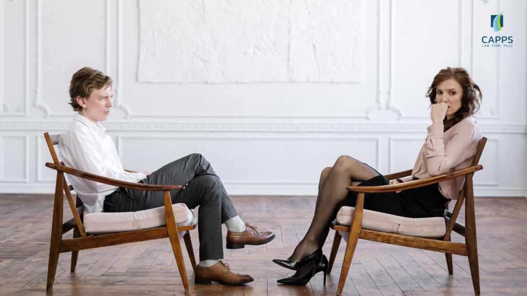 how to start the divorce process in texas